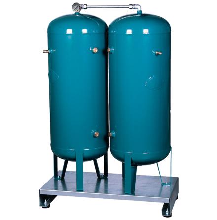 Lufttankar 2x90 liter