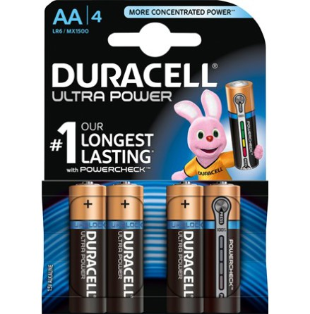 Duracell Ultra Power AA LR6 5x4-pack