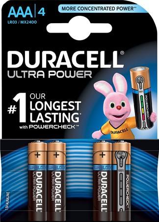 Duracell Ultra Power AAA LR03 5x4-pack