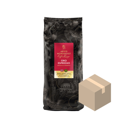 Kaffebönor Oro Espresso 6x1000g