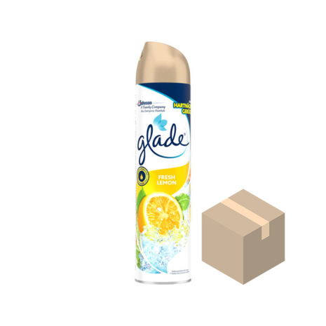 Glade Aerosol Fresh Lemon 6x300 ml