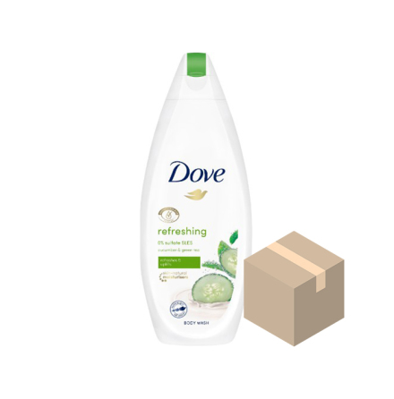 Dove Refreshing Duschgel 6x225 ml