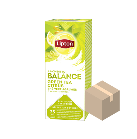 Lipton Classic Citrus 6x25-pack