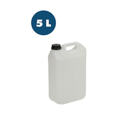 Plastdunk HDPE natur 5 l 4-pack