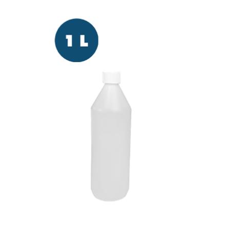 Plastflaska HDPE natur 1 l 15-pack