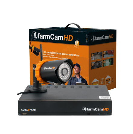 Farmcam HD komplett kit inkl. 1 st kamera