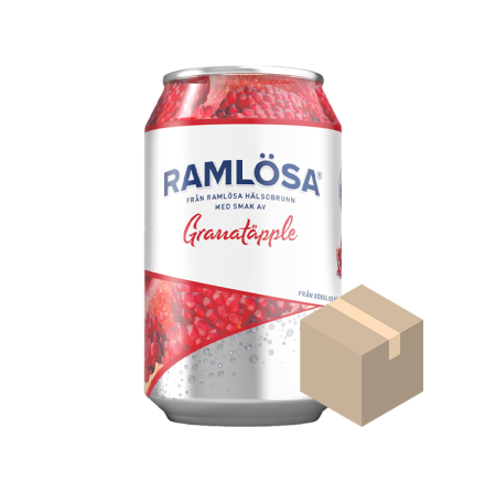 Ramlösa Granatäpple 24x33 cl
