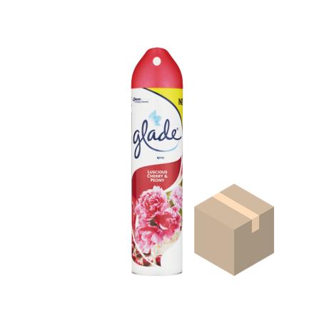 Glade Aerosol Luscious Cherry & Peony 12x300 ml
