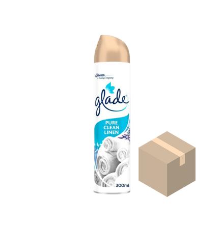 Glade Aerosol Pure Clean Linen 12x300 ml